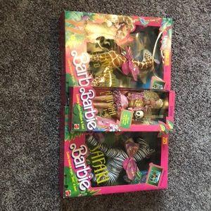 1988 Animal Lovin' Barbie set